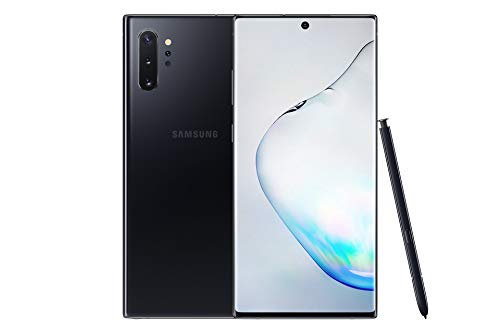 Samsung Galaxy Note10+ 4G Hybrid-SIM 256 GB 6.3-Inch Android Smartphone - Aura Black (UK Version)