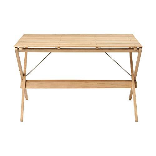 Carl Hansen BM3670 outdoor klaptafel, teak BxHxD 115x72x71,5cm