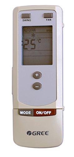 Telecomando condizionatore Gree, Artel, Unical, Tasaki, Teco ed altri Y502 - Y512 funziona con climatizzatore - pompa di...