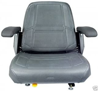 Seats, Inc Charcoal Gray Seat, Bunton,Bobcat,Dixie,Snapper,Toro,Exmark Zero Turn Mower #JV