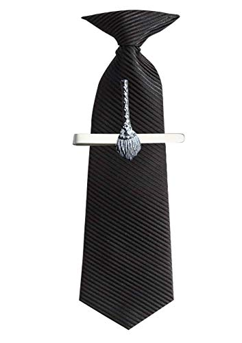 FT220 Heksen Wizards Bezem .6x3.7cm Gemaakt van Fijn Engels Moderne Tinnen op een Tie Clip (glijbaan) geplaatst door ons geschenken voor alle 2016 van DERBYSHIRE UK