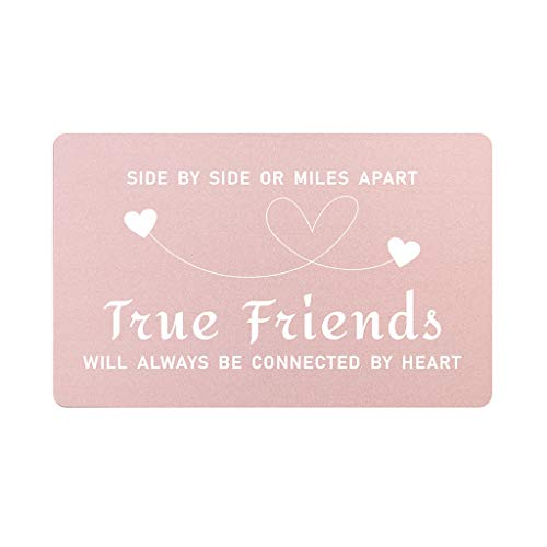 Gifts for Friend Women Long Distance, Miles Far Apart Friend Gifts, True Friend Gift for Teen Girls, Distance Friendship Gifts, Birthday Christmas Mothers Day