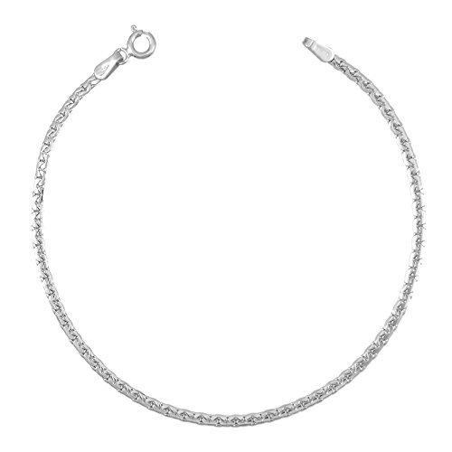 Les Bijoux d'Emma - Collier Maille Haricot - OR 9CT