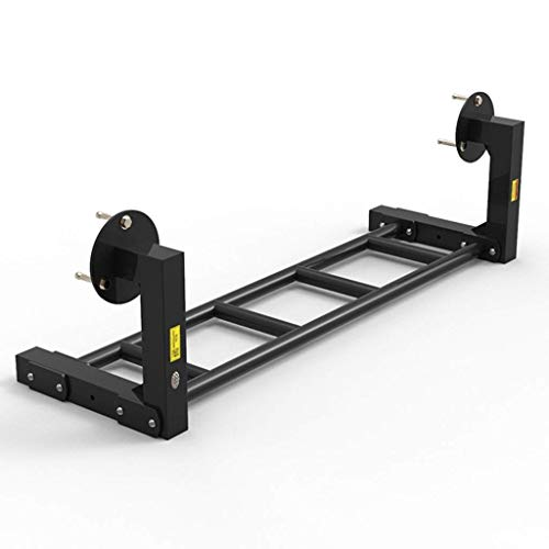 C-Xka - Brazo de ejercicio para pared con múltiples posiciones, barra horizontal para interiores, barras paralelas individuales, tamaño 98 x 35 x 30 cm.