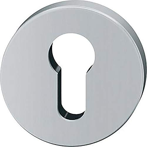 Fsb Schlüsselrosette Modell 12 1735 | Lochung: PZ | Oberfläche: Edelstahl fein matt 6204