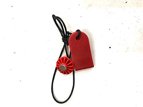 TreadmillPartsZone Replacement for BowFlex Treadclimber Model TC10 Safety Key Part 004-7388
