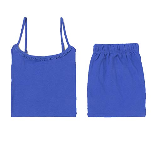 TEX 3616181631062 Juego de Pijama, Azul, XXL para Mujer