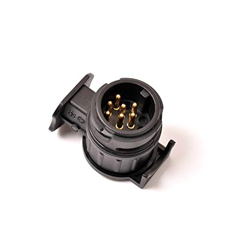 M-PENG 13-poliger auf 7-poliger Anhängerstecker-Adapter wasserdichter 12-V-Anhängerstecker-Konverter