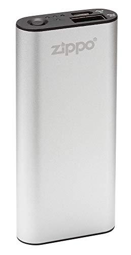 Zippo HeatBank HeatBankTM 3 – Silver (DE/NL/FR), Alluminio e plastica, Argento