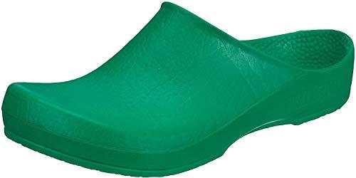 BIRKIS Klassik Birki Damen Clogs Antistatik Alpro-Schaum, Green, Größe 38 mit normalem Fußbett