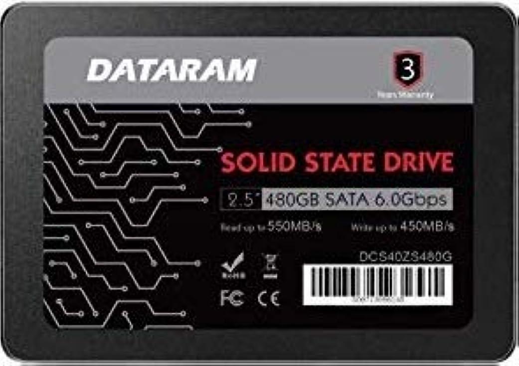 習慣校長十代DATARAM 480GB 2.5インチ SSDドライブ ソリッドステートドライブ HP PROBOOK 11 EE G2に対応