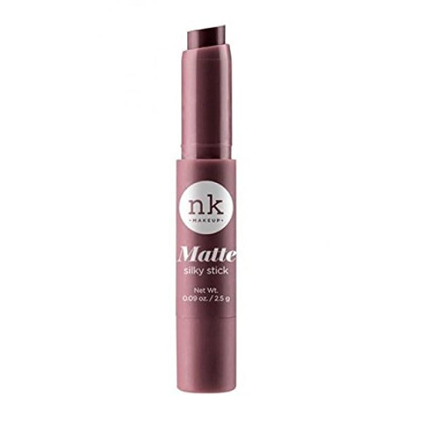 肺疎外調整(3 Pack) NICKA K Silky Matte Stick - Tosca (並行輸入品)