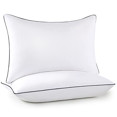 Bed Pillows for Sleeping 2 Pack, Queen Size Cooling Pillows Set of...