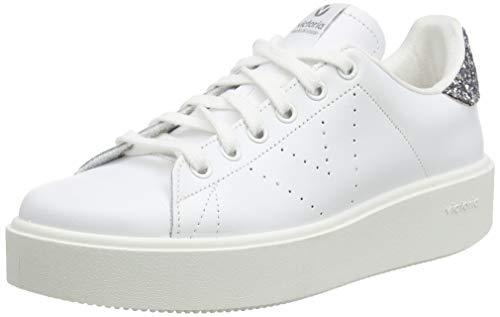 victoria Damen Deportivo Piel Sneaker, Grau (Antracita 16), 39 EU