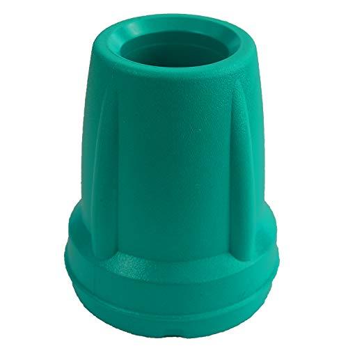 Kozee Komforts Farbige Zwinge für 19 mm Gehstock oder Krücken – Blau/Grün/Orange/Violett