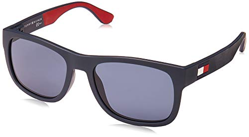 Tommy Hilfiger Herren Th 1556/S Sonnenbrille, Mehrfarbig (Bl Redwht), 52