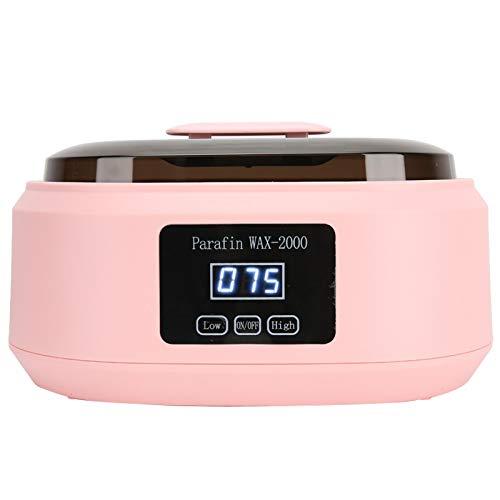 Fybida Máquina de Cera Kit de depilación Terapia de Cera Calentador de parafina Calentador de Cera eléctrico para pies Cuidado de Manos para Mujeres(110V, U.S. Standard)
