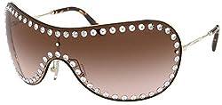 MU 51 VS ZVN6S1 Pale Gold Sunglasses