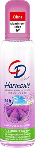 CD DEO ZERSTÄUBER HARMONIE 75 ml, Deodorant ohne Aluminiumsalze, langanhaltender Schutz für 24 h