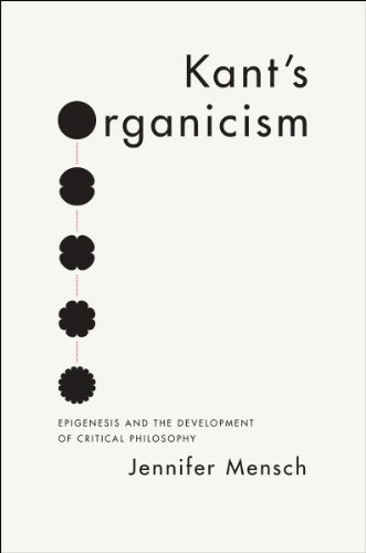 Kant's Organicism: Epigenesis and the Development of Critical Philosophy