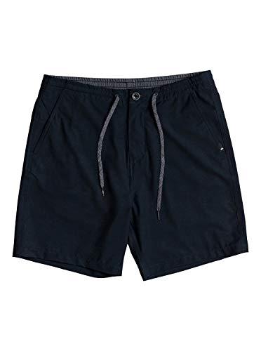 Quiksilver Herren Mission Amphibian 18 Walk Legere Shorts, schwarz, 56