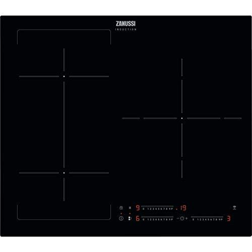 Zanussi ZIFN633K Placa inducción, 3 zonas, Función Puente, Temporizador, Función...