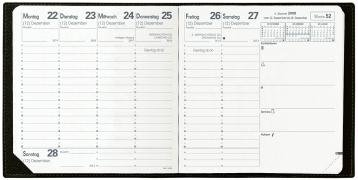 Executif Taschen-Kalender Soho 2021 Schwarz: Agenda Planing. 1 Woche auf 2 Seiten mit Tagesnotizen. 13 Monate: Dezember bis Dezember. Von 7.00 Uhr bis 20.00 Uhr. Mit Adressenverzeichnis