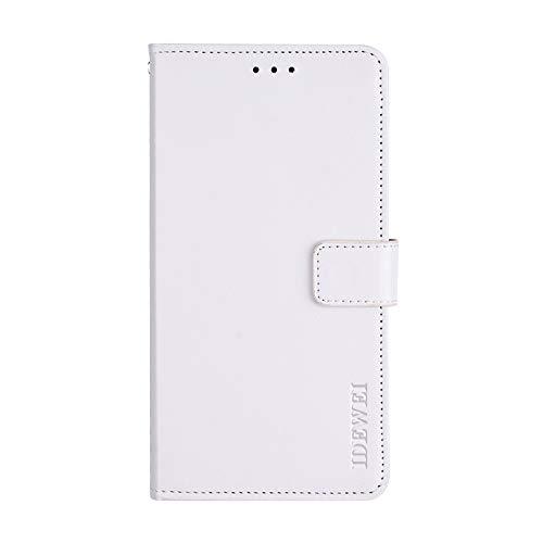 BELLA BEAR Case voor Xiaomi Mi A2 Lite, lederen portemonnee Holster portemonnee portemonnee beugel functie zachte PU Materiaal telefoonhoesje Cover voor Xiaomi Mi A2 Lite
