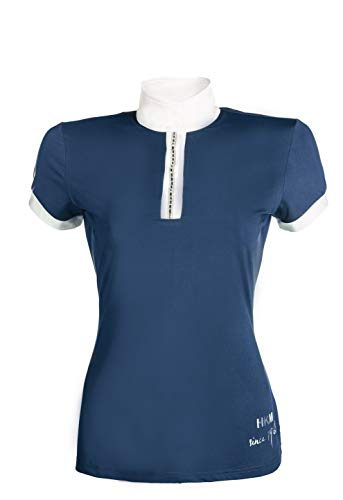 HKM Turniershirt -Crystal-, dunkelblau, S