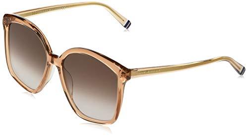 Tommy Hilfiger TH 1669/S Sunglasses, Peach, 57 Womens
