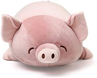 Niuniu Daddy Stuffed Animal Pig Plush Toy Pillow for Kids 17 5In Kawaii Soft Cuddly Stuffed product image