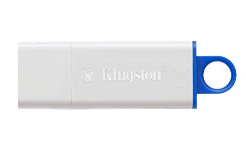 Lecteur Flash USB Kingston Digital Bleu 16GB Traveler DTIG4 3.0 - 1