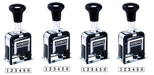 Cosco Automatic Numbering Machine, 6-Digits, 8 Modes, Black Ink (026138) (4)