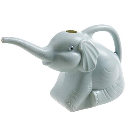 QAZRFVPXF Mini Regadera de PláStico JardineríA Botella de Agua Regadera Elefante Equipo de Riego Forma de Elefante de Dibujos Animados para el Hogar y el JardíN Macetas Plantas Riego de Plantas