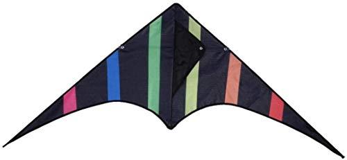 Triangle Black Kite + 30M Line Park Fliegen Eltern-Kind-Unterhaltung Spielzeug 47 * 21,6-Zoll-Profi Lenkdrachen mit Griff und gute Fluglinie