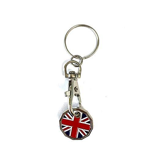 Llavero de carro de la compra Phoenix de Reino Unido, 1 libra...