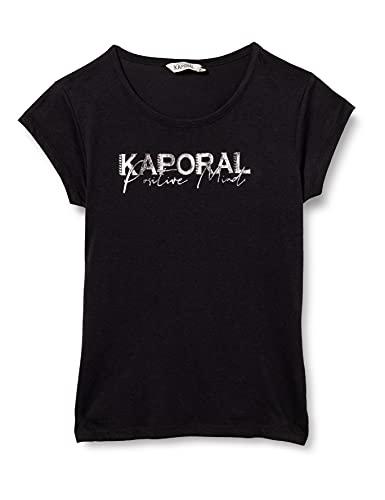 Kaporal ENO Shirt Fille, Noir, 12 ans