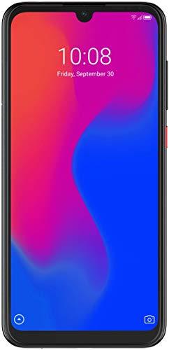 ZTE Smartphone Blade A7 (15.46 cm (6,08 Zoll) HD+ Bildschirm, 4G LTE, 2GB RAM & 32 GB interner Speicher, 16 MP Hauptkamera & 8 MP Frontkamera, Dual-SIM, Android 9) Schwarz