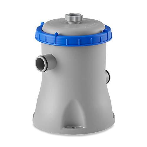 Bestway 58385E Flowclear Pool Filter Pump w/GFCI Plug, Gray