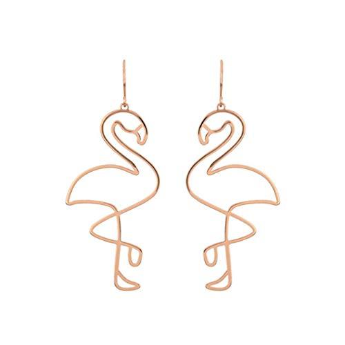 forbestest 1 par estilo coreano irregular geometría de las mujeres pendientes de huecos a cabo chicas cuelgan gota anillos de oído del oído de los pernos prisioneros de Bohemia Útil Asequible