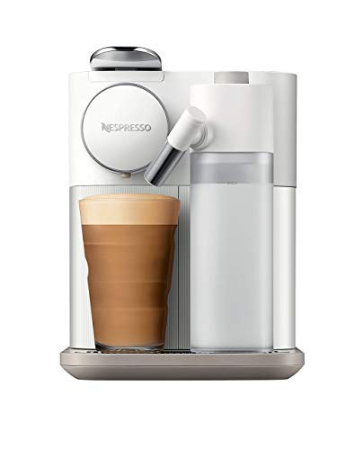 DeLonghi Nespresso EN650 Gran Lattissima - Macchina da caffè con sistema a capsule. bianco