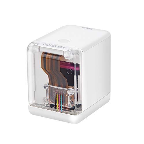 Fesjoy Stampante portatile MBrush Mini stampante a getto d'inchiostro portatile Stampante per codici a barre a colori 1200 dpi con cartuccia d'inchiostro APP per testo personalizzato Numero codice Cod