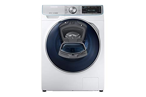 Samsung - Lavasecadora QuickDrive™ Serie 7 WD90N74FNOA 9kg de Lavado/ 5kg de Secado WD90N74FNOA, Carga Frontal, Blanco, LED
