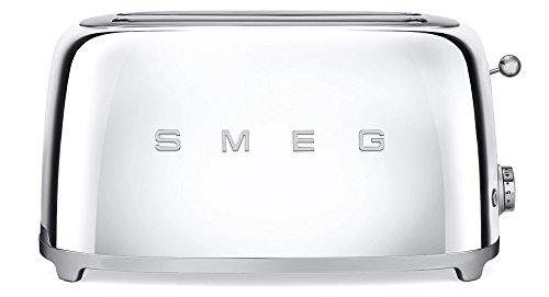 Smeg TSF02SSEU Toaster 4 Scheiben, chrom