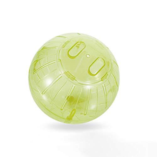 RONSHIN 14,5 cm transluzent laufendes Kugelspielzeug für Hamster Pets Supplies Gelb