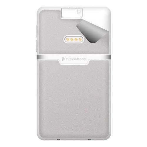 スキンシール NichePhone-S 4G 【サテン・ホワイトアルミ】