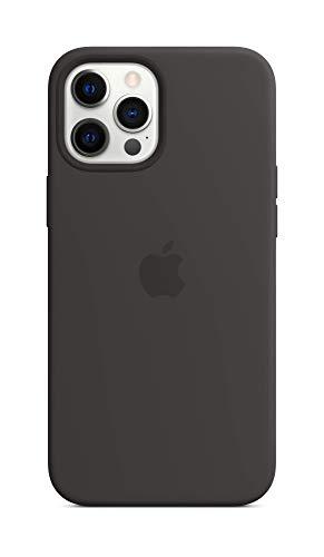 Apple SilikonCase mit MagSafe (für iPhone 12 Pro Max) - Schwarz