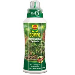 Compo 2141102011 Fertilizante Bonsais 500 ml, 23x7x6.3 cm