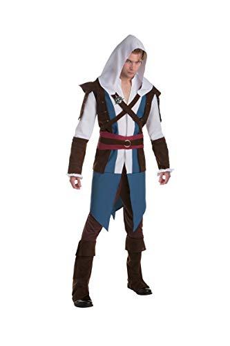 Palamon Déguisement Classique Edward - Assassin's creedAdulte - Coloré - Taille Unique