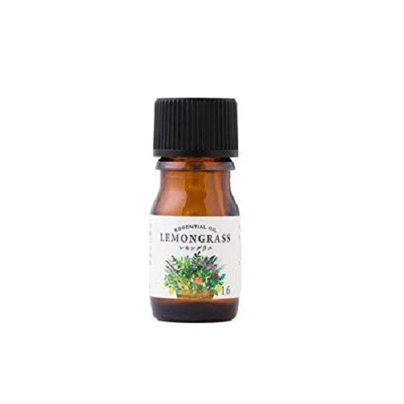 精査する少ない私達生活の木 エッセンシャルオイル レモングラス 5ml 08-020-1160